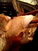 烈火 鯛あら煮 780円