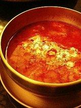 高矢禮 海鮮スンドゥフ鍋