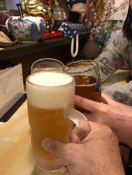 西井で打上げ (2)