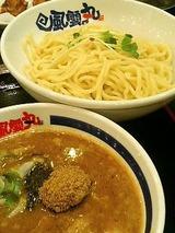 風雲丸 濃厚つけ麺 750円
