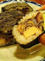 花月うどん 巻き寿司 280円