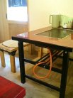テーブル席