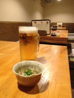 百太郎飾磨店 生ビール
