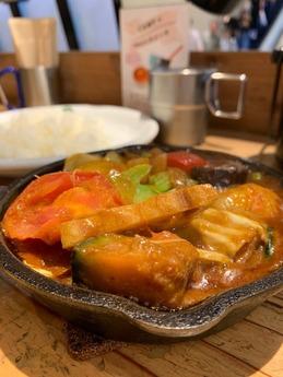 野菜を食べるカレーcamp (3)