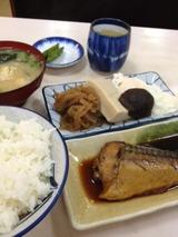 あさひや食堂 鯖の味噌煮