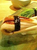 鮨 海馬 煮穴子(300円)