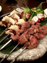 iberikoya イベリコ豚の串焼き