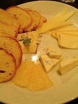 イルアルバータ チーズ盛り合わせ
