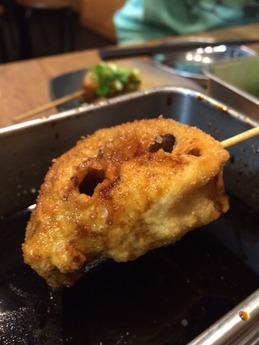 串カツでんがな 野菜盛り合せ (2)