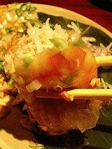 金魚 ベトナム風春巻き(650円)2