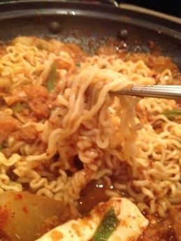 ムグンファ 蟹チゲ(麺)