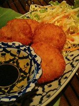 ぷりぷり海老のすり身揚げ(トード・マン・クン)840円