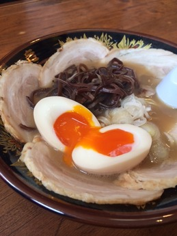 一竜 煮玉子チャーシューメン (1)