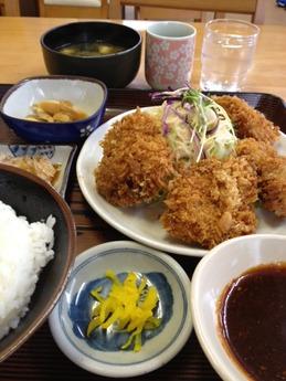 ごはん亭 日替わり定食 650円