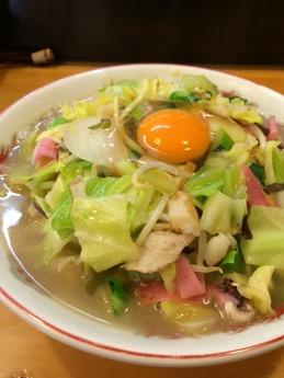 龍食堂 ちゃんぽん 700円