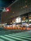 夜のエクセルホテル東急