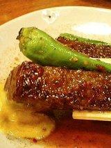 博多どんたく 上カルビ串焼き(450円)2