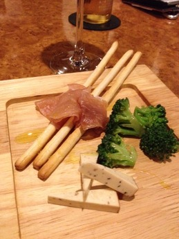 シンバル 前菜