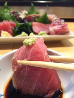柳すし 刺身 (2)