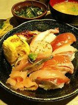 いわ樹 にぎり寿司御膳