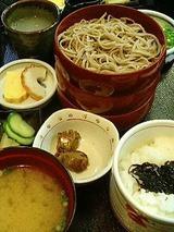 羽根屋 割子3段定食 860円