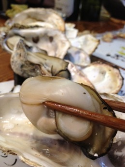れん  岩牡蠣 白ワイン蒸し