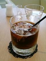 バウムクーヘン&ティー マ・クルール アイスコーヒー(577円)