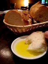 ビストロタケノヤ パン
