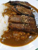 牛タン味噌漬ステーキカレー(1300円)1日限定10食