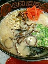 くるめラーメン 豚骨ラーメン(600円)