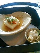 四季亭 ごま豆腐