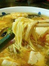 酸辣湯麺(640円)