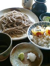 てる坊 お昼のセット(800円)
