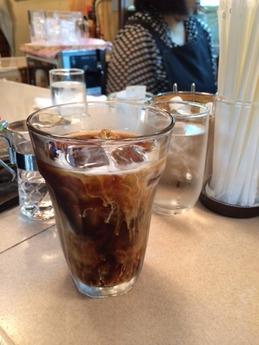 BELL アイスコーヒー 280円
