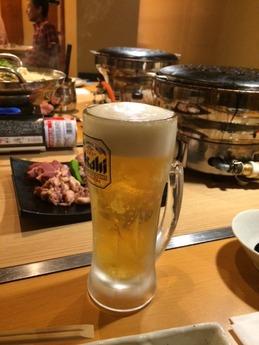 鳥奉行岸和田 ビール
