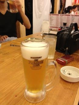 大阪新世界 山ちゃん ビール