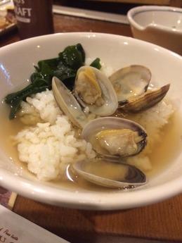 漁火 貝汁めし (1)