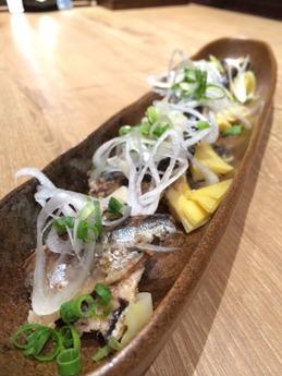 かっこ 秋刀魚