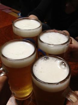 むさし 生ビール