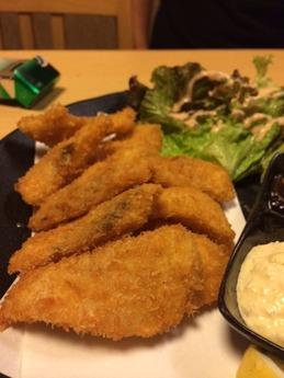 津 さん喜ち 白身魚フライ