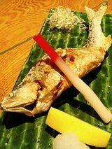 鮎の塩焼き(680円)