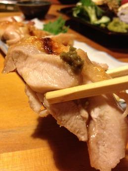 百太郎  宮崎鶏の塩焼き 580円