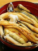 あなご丼(1500円)