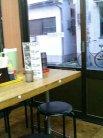 宇野製麺所 テーブル席