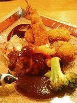 洋食大好きセット(クリームコロッケ・エビフライ・グリルチキン)