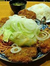 ポプラ チキンカツ定食(850円)