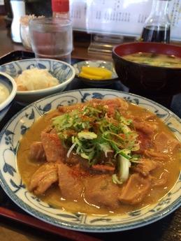 かつ美食堂 ホルモン定食 940円