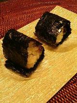 ゴマ味噌とカレー(一口おにぎり)