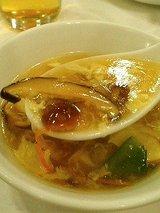 百楽 三種キノコ入りスープ