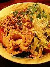 金魚 バンバンジーサラダ(750円)
